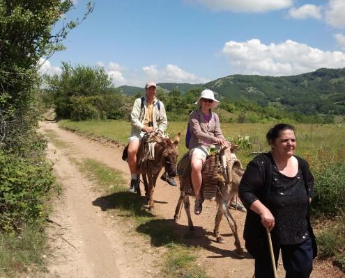 Æselsafari og ridning Makedonien