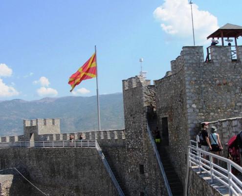 Borgen Ohrid Makedonien