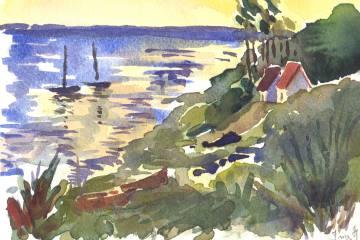 Malerejse med Inge Hornung og FOF