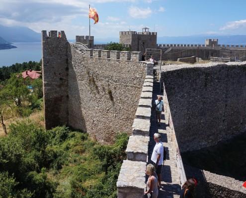 Sommerferie i Makedonien Byrundtur i Ohrid