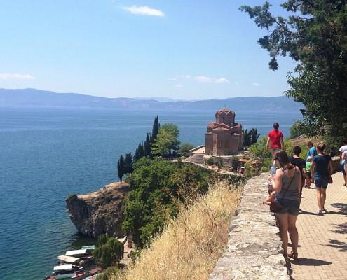 Sommerferie i Makedonien Byrundtur2 i Ohrid