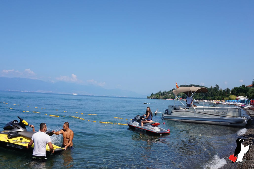 Sommerferie i Makedonien Strand og Vandscooter i Ohrid