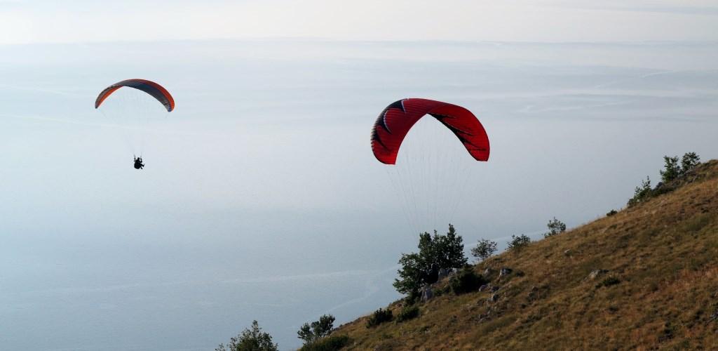 Paragliding Ohrid Makedonien
