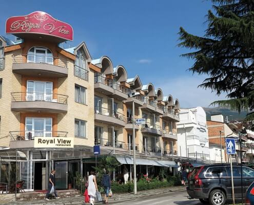 Hotel Royal View Ohrid Makedonien