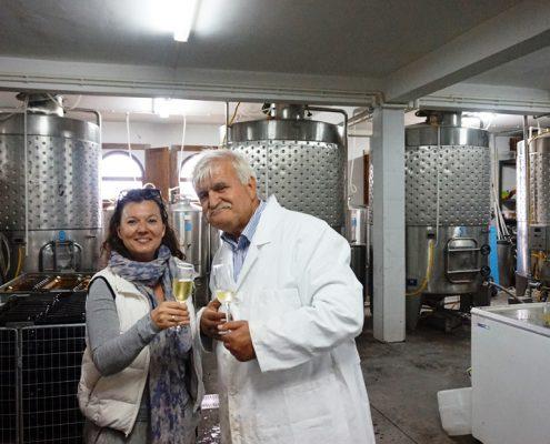 Vinrejse Makedonien