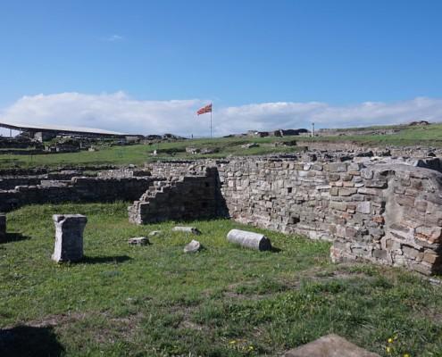 Vinrejse Makedonien Stobi arkæologiske Site