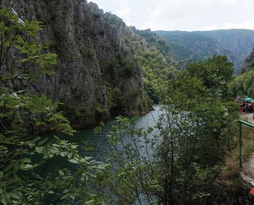 Storbyferie Skopje Makedonien Udflugt til Matka Canyon