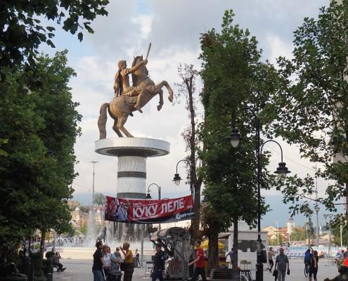 Storbyferie Skopje Makedonien med store kontraster
