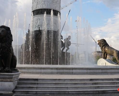 Storbyferie Skopje Makedonien Sightseeing gennem Skopjes gader og stræder