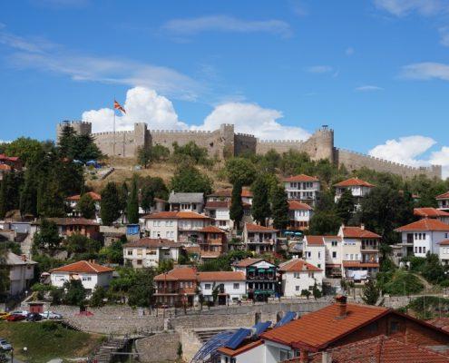 Borgen i Ohrid