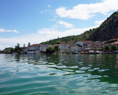 Ohridsø UNESCO Ohrid Makedonien