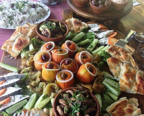Frokost i Makedonien med ALK REJSER