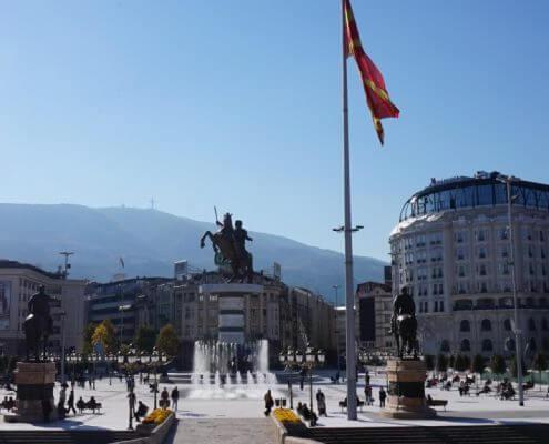 Skopje Makedonien