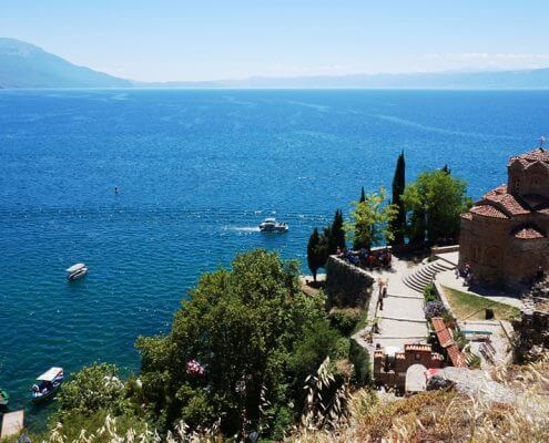 Ohrid makedonien unesco