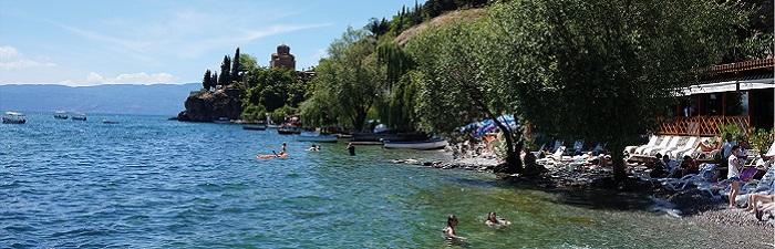 Badning i Ohridsøen