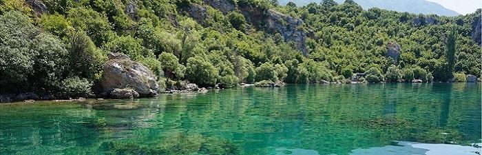 Ohridsøen i Makedonien