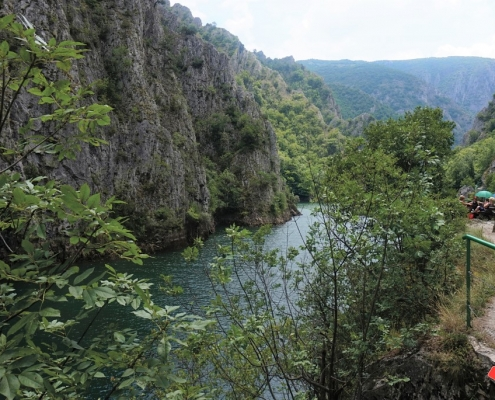 Matka Canyon i Makedonien